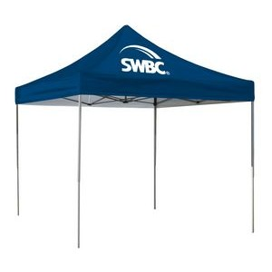 10' Square Event Tent Full-Color Dye Sublimation (1 Location)