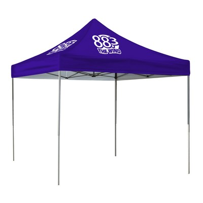 10' Square Event Tent Full-Color Dye Sublimation (2 Location)