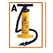 "15 1/4"" Double Action Heavy Duty Hand Air Pump"