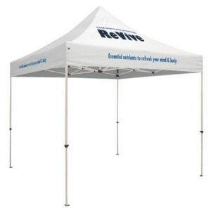 10' Square Event Tent Full-Color Dye Sublimation (3 Location)